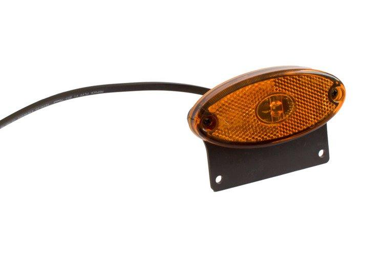 Led Lampen Aanhangwagen : Zijmarkeringslamp aspöck flatpoint ii led met montagesteun voor