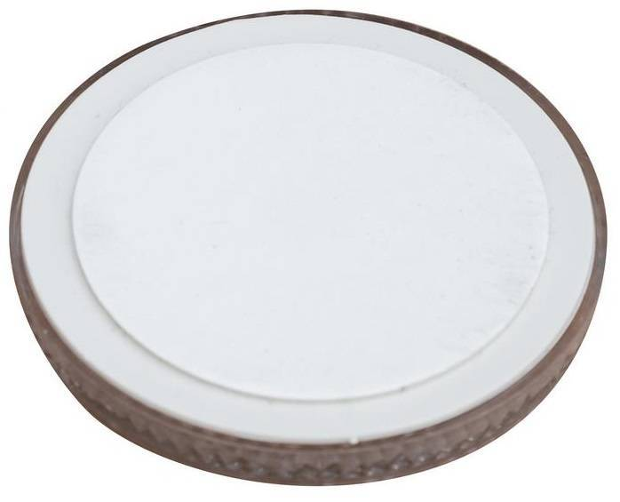 Reflector rond 60 mm, wit